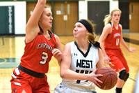 South Sioux City Girls Basketball at West