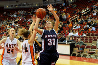 North HS Girls vs Ames HS at Wells Fargo, Des Moines