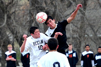 East Boy's Soccer at Bishop Heelan