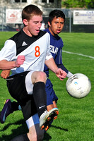 Bishop Heelan Crusader Boy's Soccer at East Black Raiders