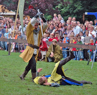 Medieval Fair at Angelbachtal, Germany, 2007