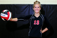 Akron Westerner Volleyball Individual and Team Pictures
