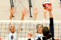 Heelan vs North Conference Tourney  Volleyball