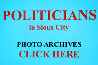 Covering POLITICIANS in Sioux City