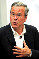 Jeb Bush at Morningside College, 2015 (FREE images from this event contact me)
