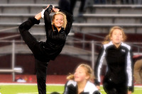 East Dancers Perform at Homecoming Game