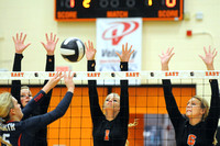 Regional Volleyball Semi-finals, North at East
