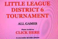 District 6 Little League Archives Games