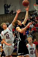 South Sioux Cardinal Boy's Basketball at North Stars