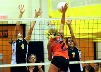East Volleyball Invite - Hinton vs East HS