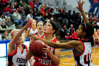 South Sioux Cardinal Girl's Basketball at NorthStars