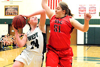 South Sioux City Girl's Basketball at West