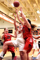South Sioux City Girl's Basketball at East