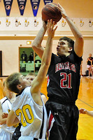 Akron-Westfield Westerner Boys Basketball at Hinton Blackhawks