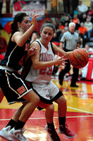 East Black Raider Girl's Basketball at South Sioux Cardinals
