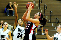 North Star Girls Basketball at West Wolverines