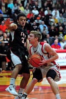 East Black Raider Boy's Basketball at South Sioux Cardinals