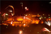 (Not Sioux City on the 4th) Heidelberg Castle, New Year's Eve