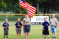 Opening Ceremony, State Tournament Junior and Senior Little League
