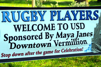 ALL USD Vermillion RUGBY Photos (6 matches) are located here. CLICK to open.
