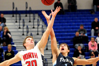 Lewis Central Boy's Basketball at North