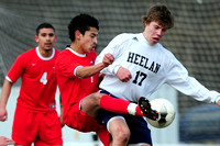 North Boy's Soccer at Heelan
