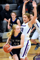 Elk Point-J Girl's Basketball at Dakota Valley