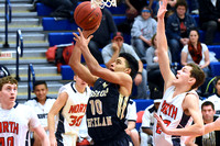 Heelan Boy's Basketball at North