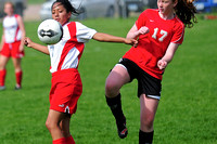 Spirit Lake Girl's JV Soccer vs North