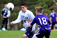 Spencer Boy's Soccer at Heelan